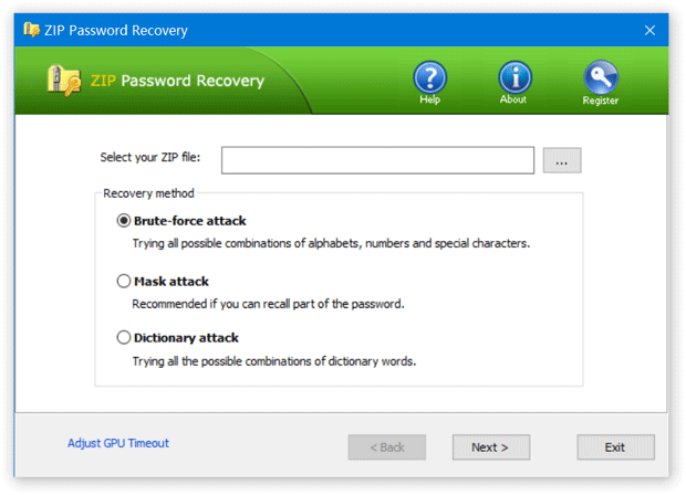 ZIP Password Recover 2.0.0.0 Crack Free For PC Full [Latest]