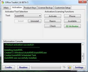 Microsoft Toolkit 2.6.8 Crack+Activator Windows [Latest+Keys]