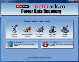 MiniTool Power Data Recovery 9.1.1 Crack [Latest] 2021